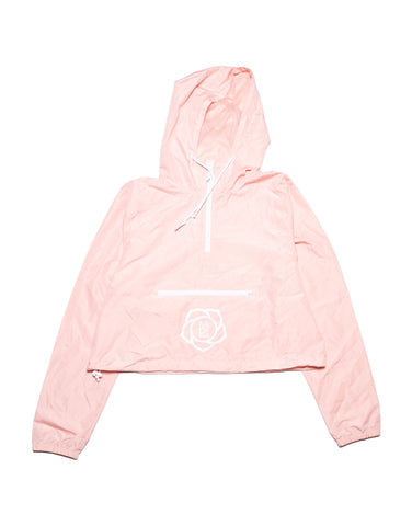 Rose Lightweight Crop Windbreaker