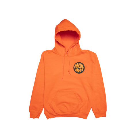 MADE Orange Chenille Hoodie