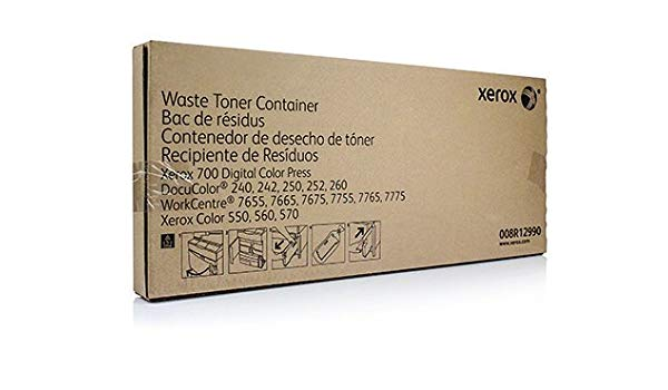 Xerox Waste Toner Container (70,000 Pages) 008R12990 for Docucolor & Color 550/560/570/C60/C70/C75/J75 & Versants & PrimeLink C9065/C9070