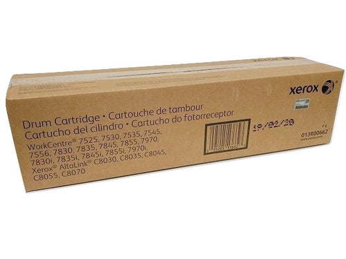 Xerox Drum Cartridge (123,000 Pages) 013R00662 for WorkCentre 75XX/78XX/78XXi/7970/7970i & AltaLink C80XX-Scriptum Supplies