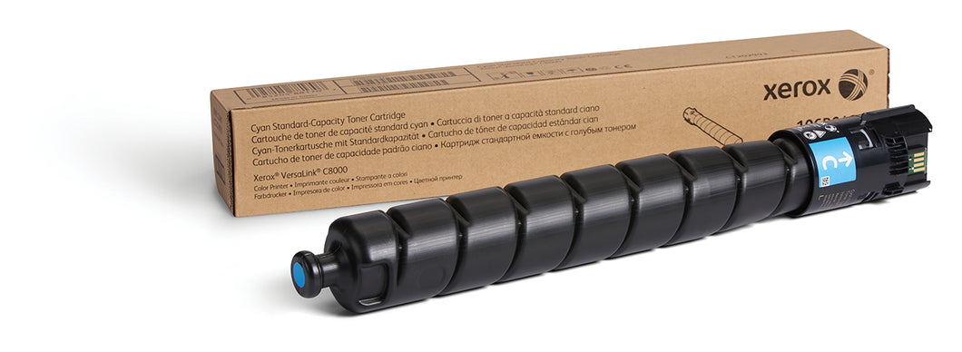 Xerox Cyan Toner Cartridge 106R04038 for VersaLink C8000/C8000W (7,600)