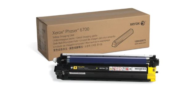 Xerox 108R00973 Genuine Phaser 6700 Yellow Imaging Unit (50,000 pages)