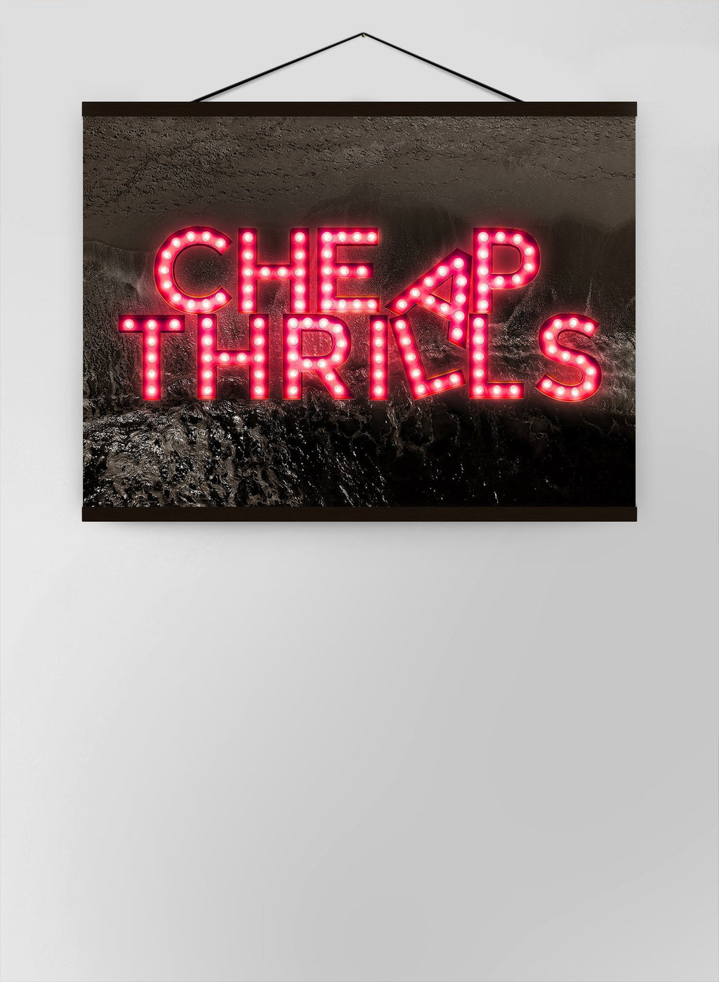 Cheap Thrills Fairground Lights Canvas