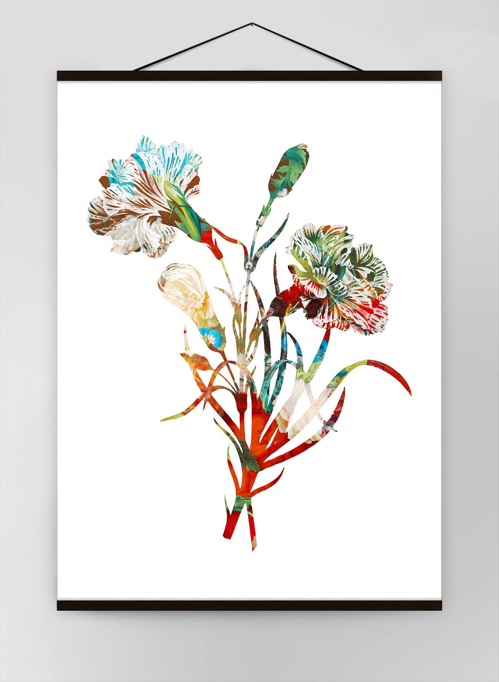 Colour Vintage Bouquet 3 Canvas