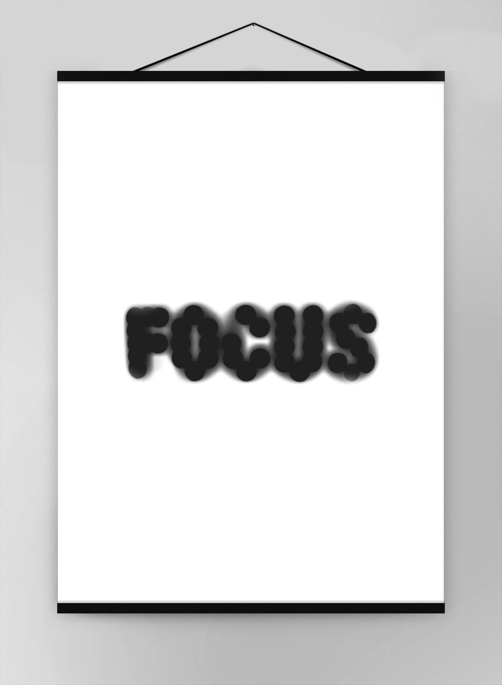 Focus Quote Canvas
