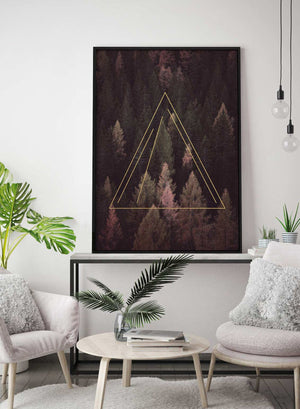 Forest Gold Print
