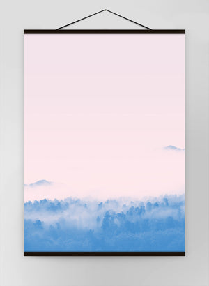 Forest Pink Blend Canvas