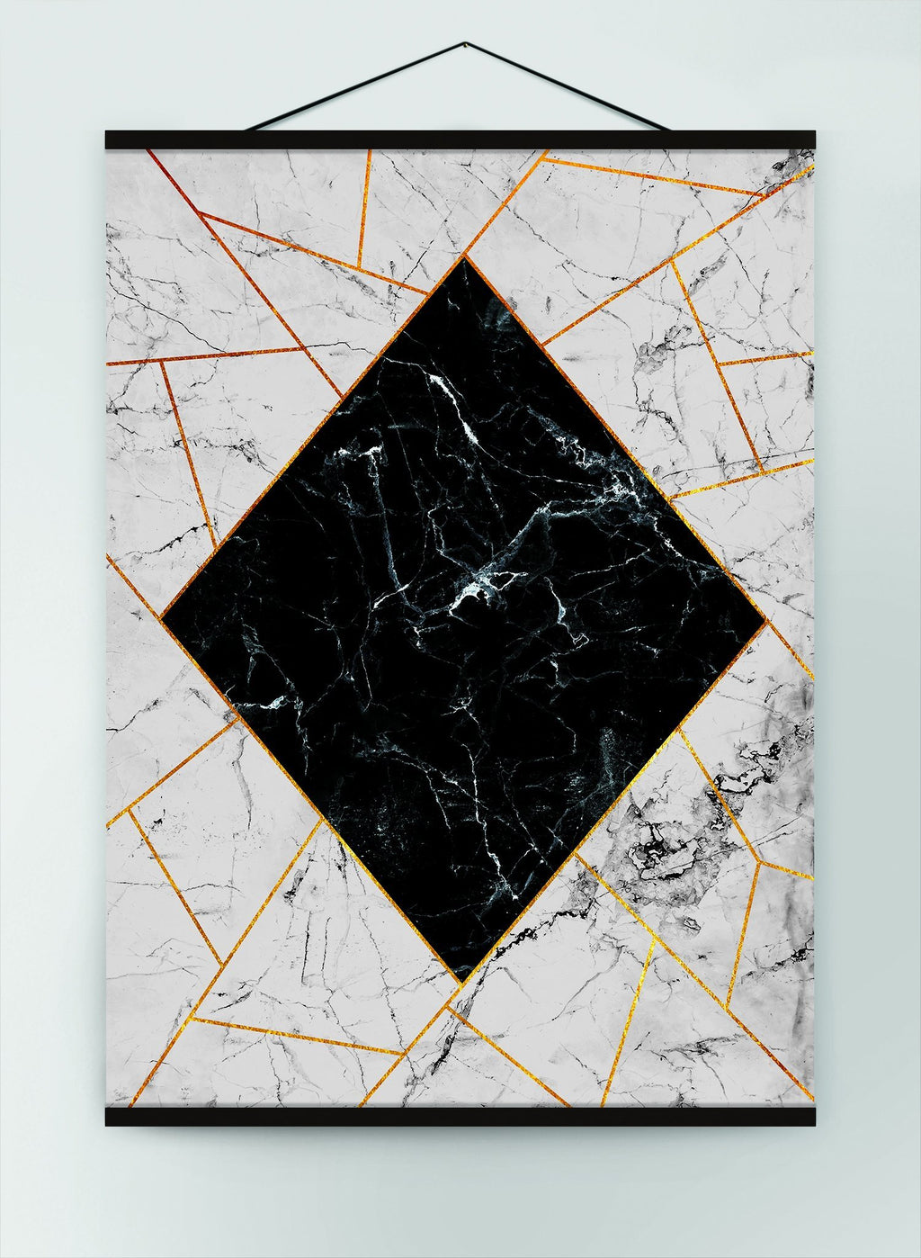 Marble Diamond Canvas