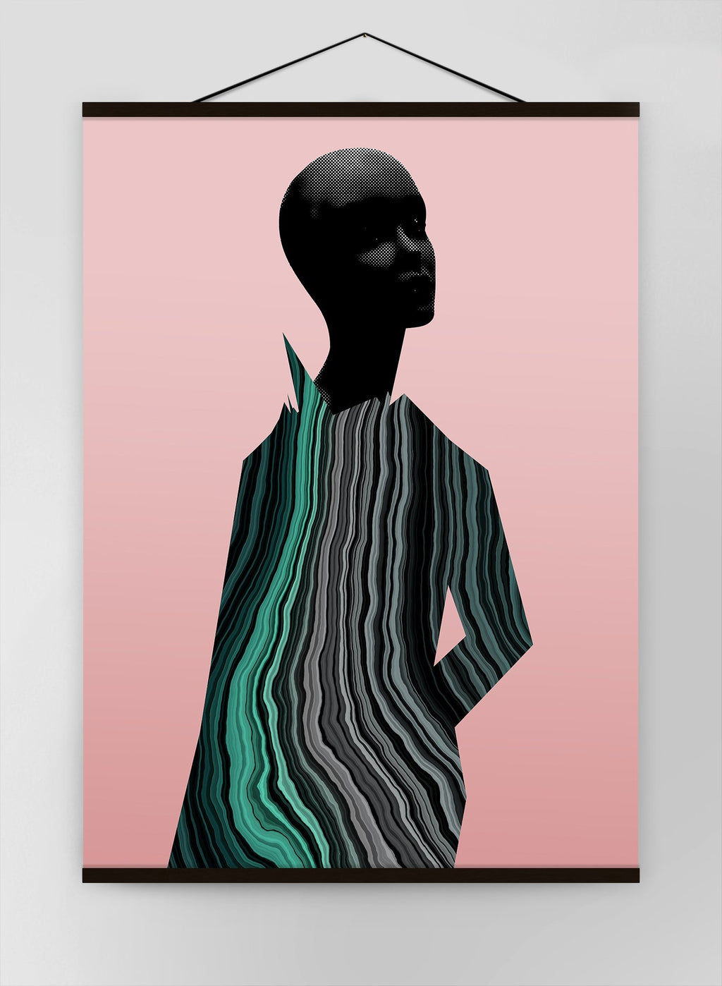 Marble Figure Canvas