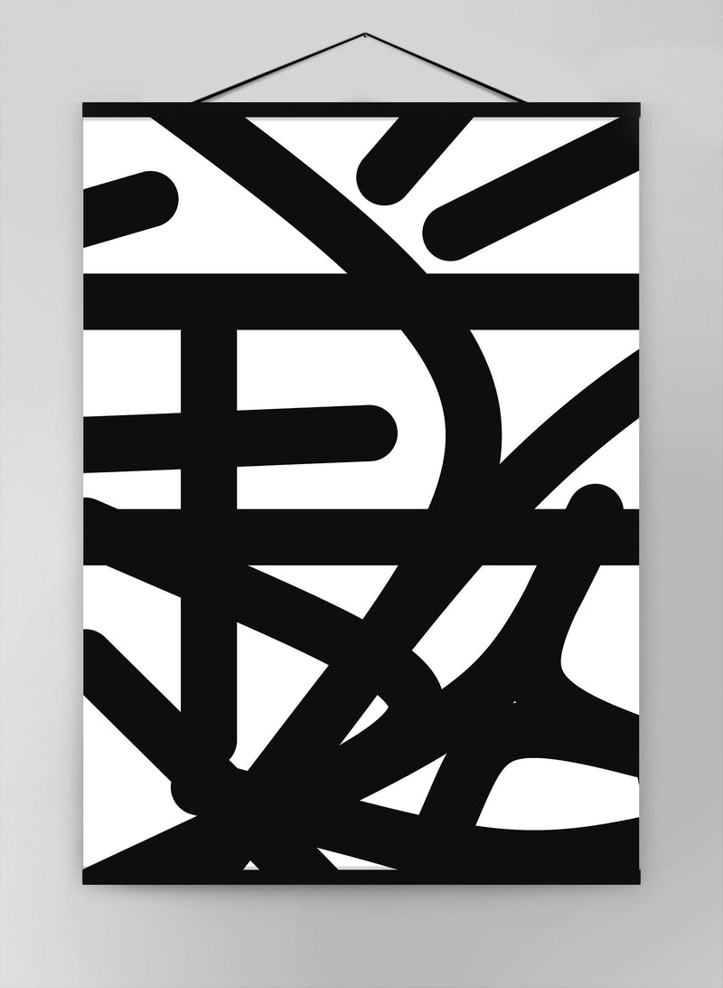 Tagged 3 Shapes Canvas