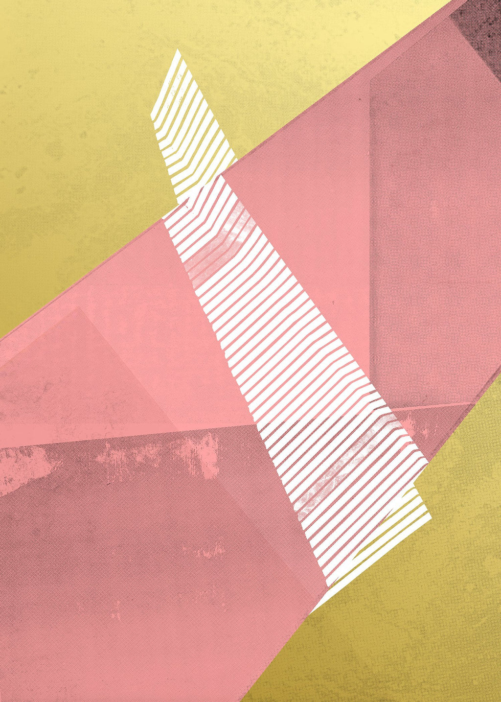 Abstract Angles 2 - Pink