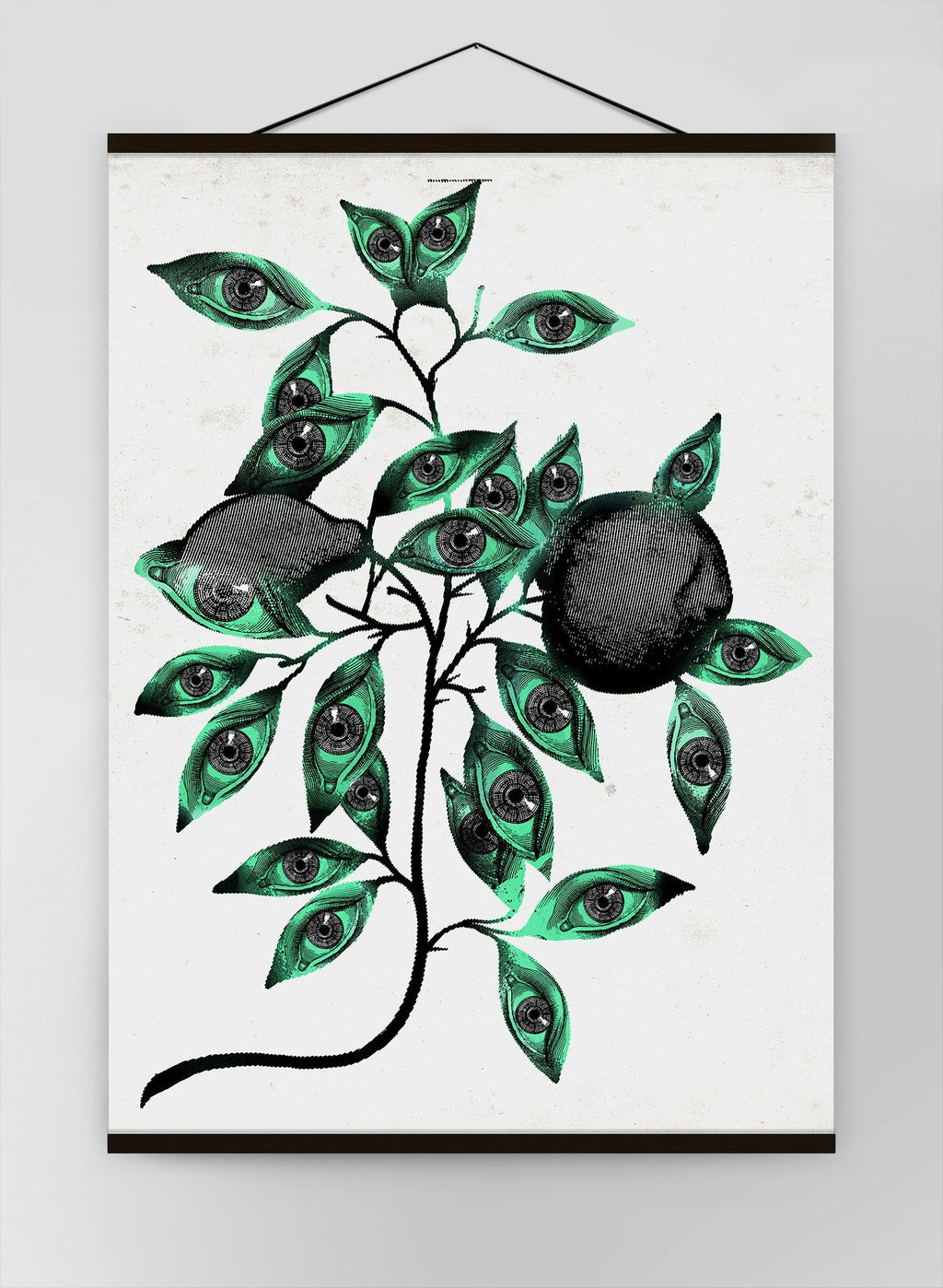Botanical Eyes Canvas