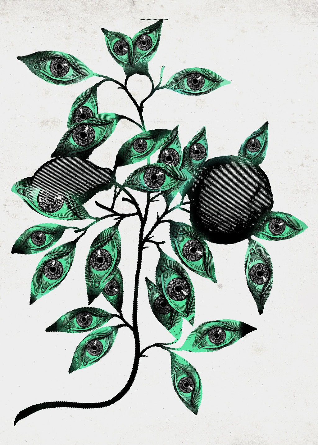 Botanical Eyes Print