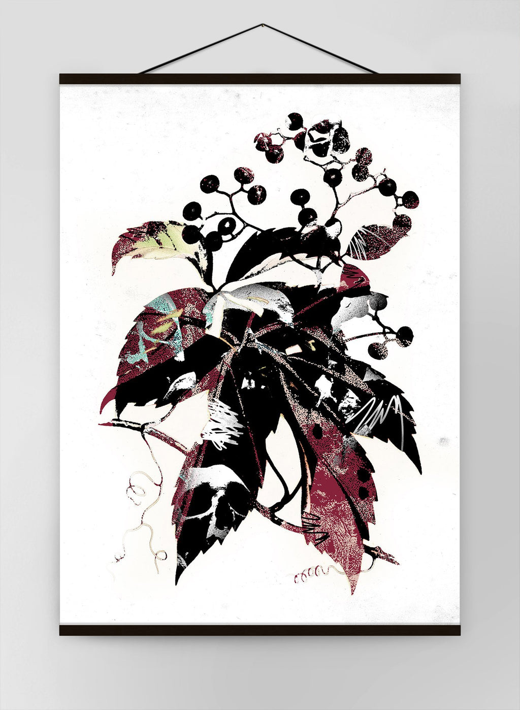 Botanical Leaves Canvas