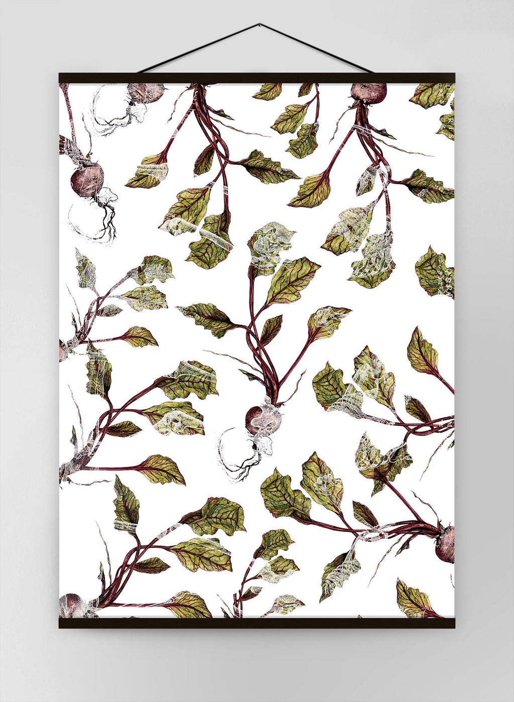Botanical Beetroot Canvas