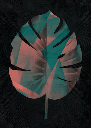 Oversized Tropical Leaf 1 Print