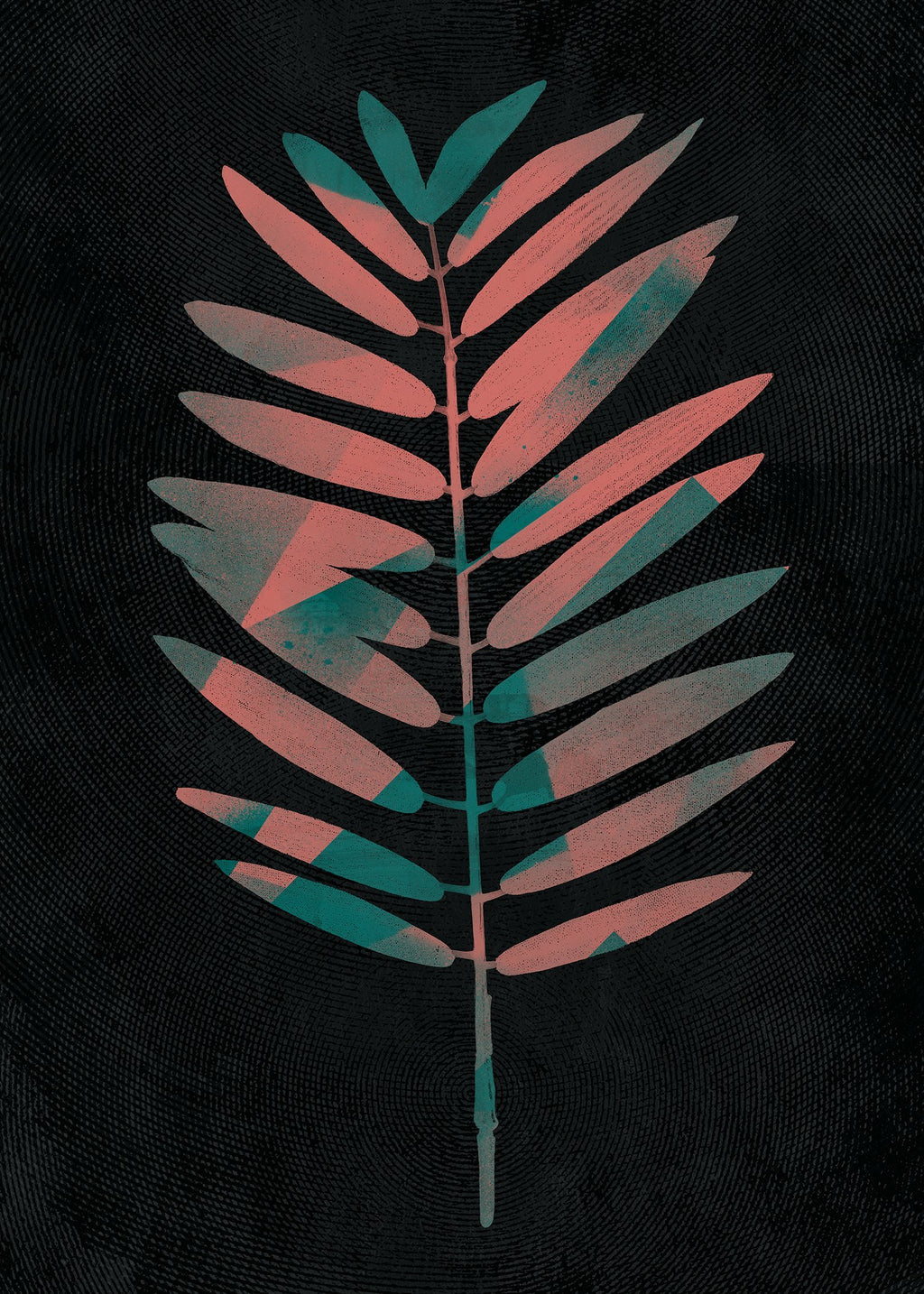 Oversized Tropical Leaf 2 Print