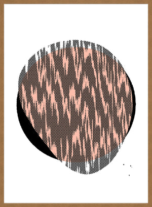 Pebble 1 Abstract Pattern Print