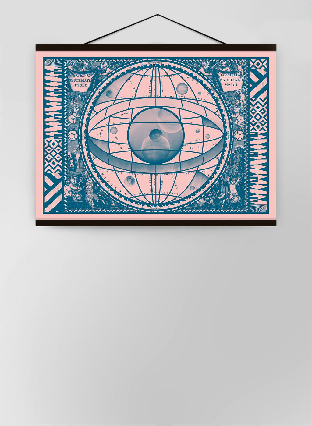 Sceno Systematis Astrology Pink Canvas