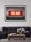 On Air Retro Lightbox Print