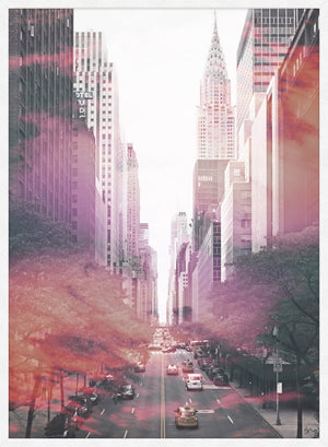 NYC New York Avenue Photography Print