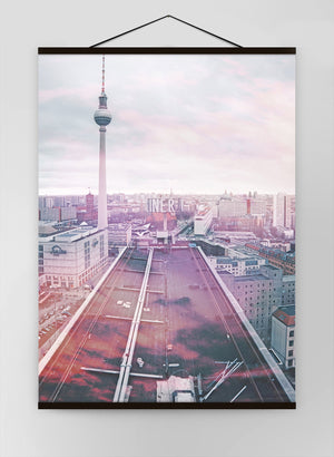Berlin City Photography Canvas