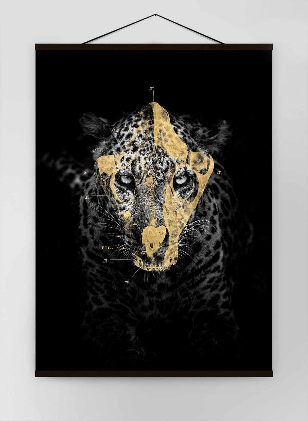Gold Leopard Canvas