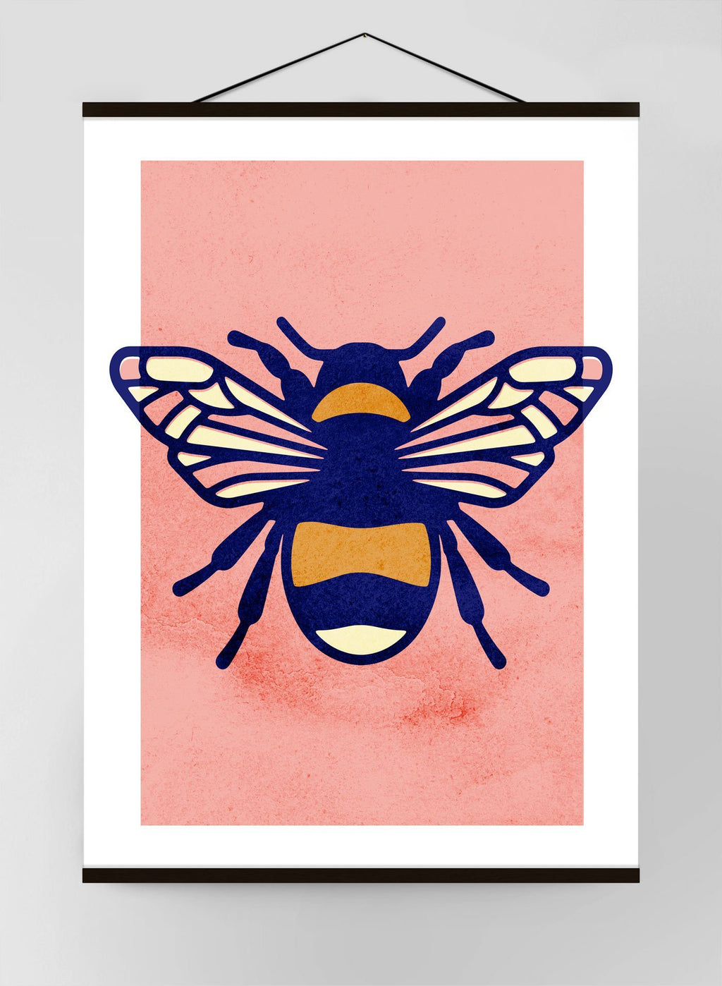 Bee Study Canvas Print
