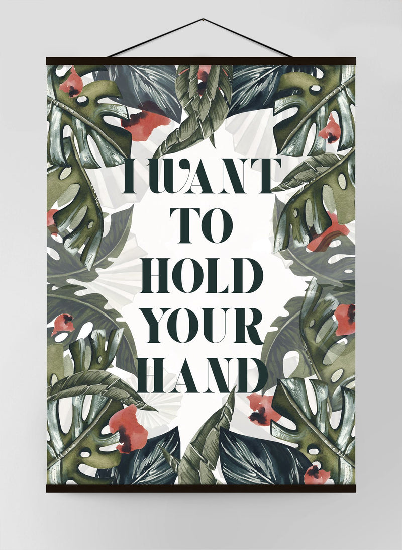Hold Your Hand Canvas