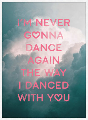 Dance Again Lyrics Print