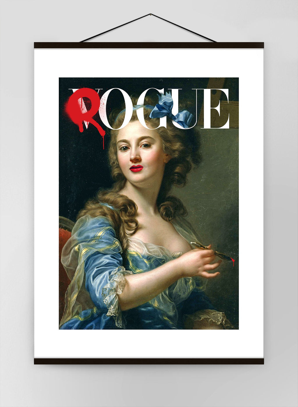 Rogue Portrait Canvas Art Print