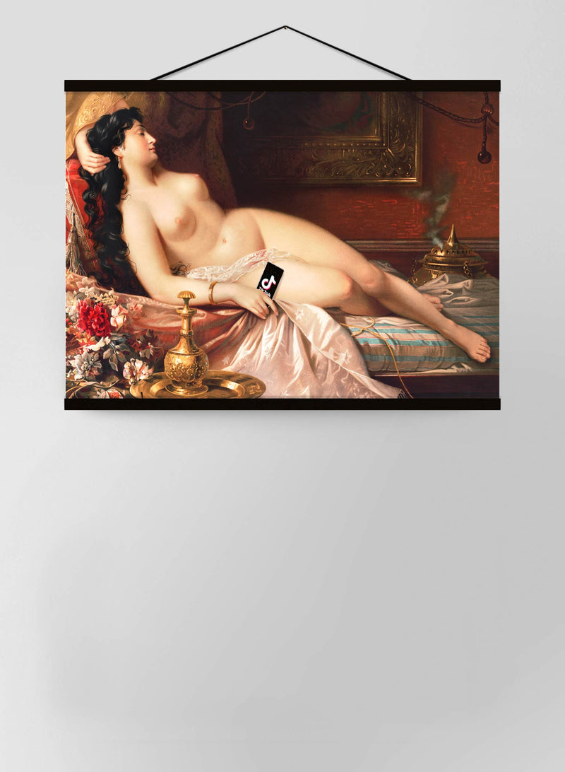 Tik Tok Oil Nude Life Painting Canvas