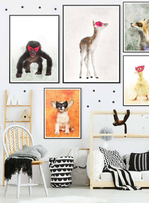 Super Chimp! Little Heroes Animal Print