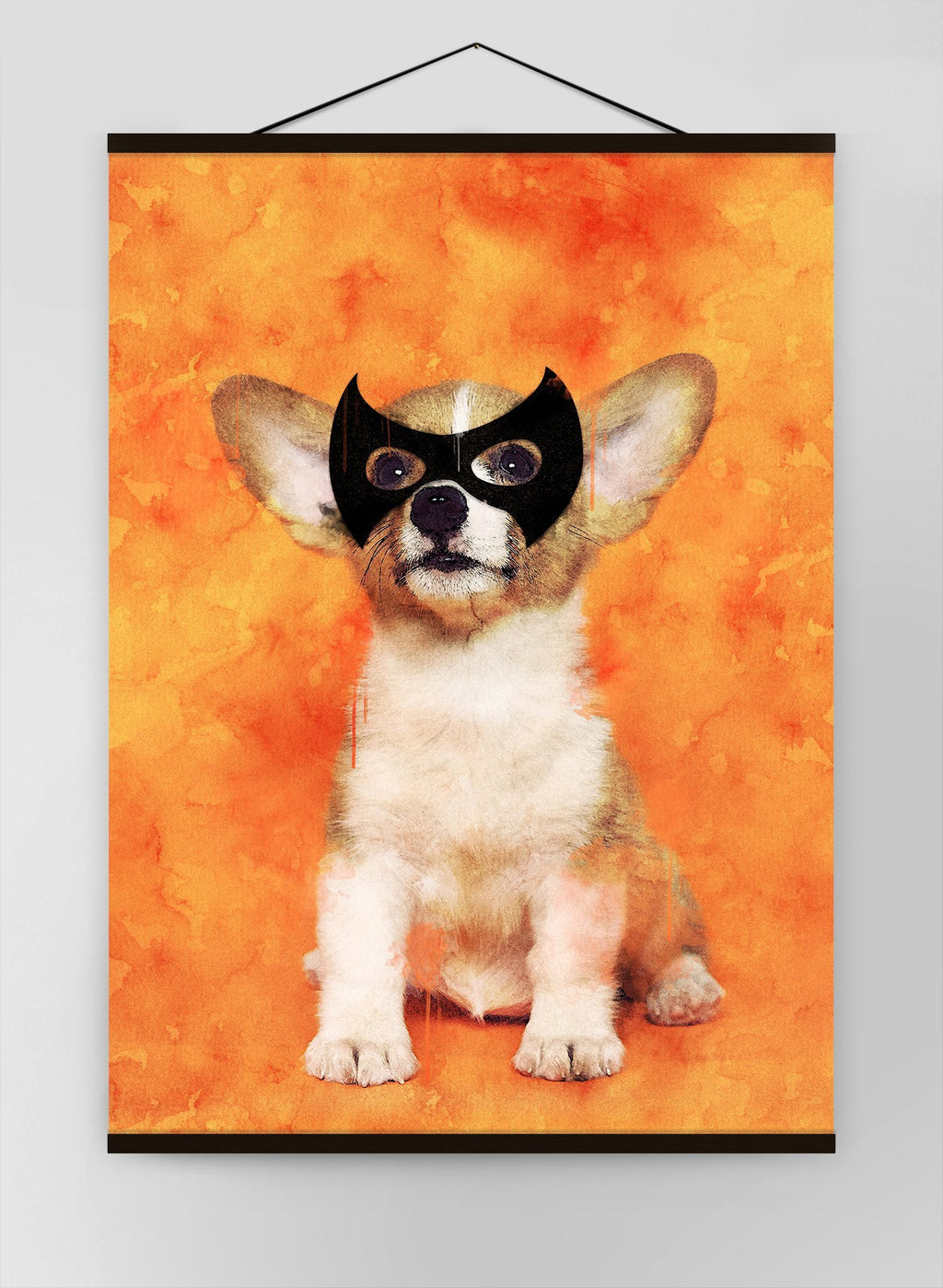 Super Puppy Little Heroes Animal Canvas