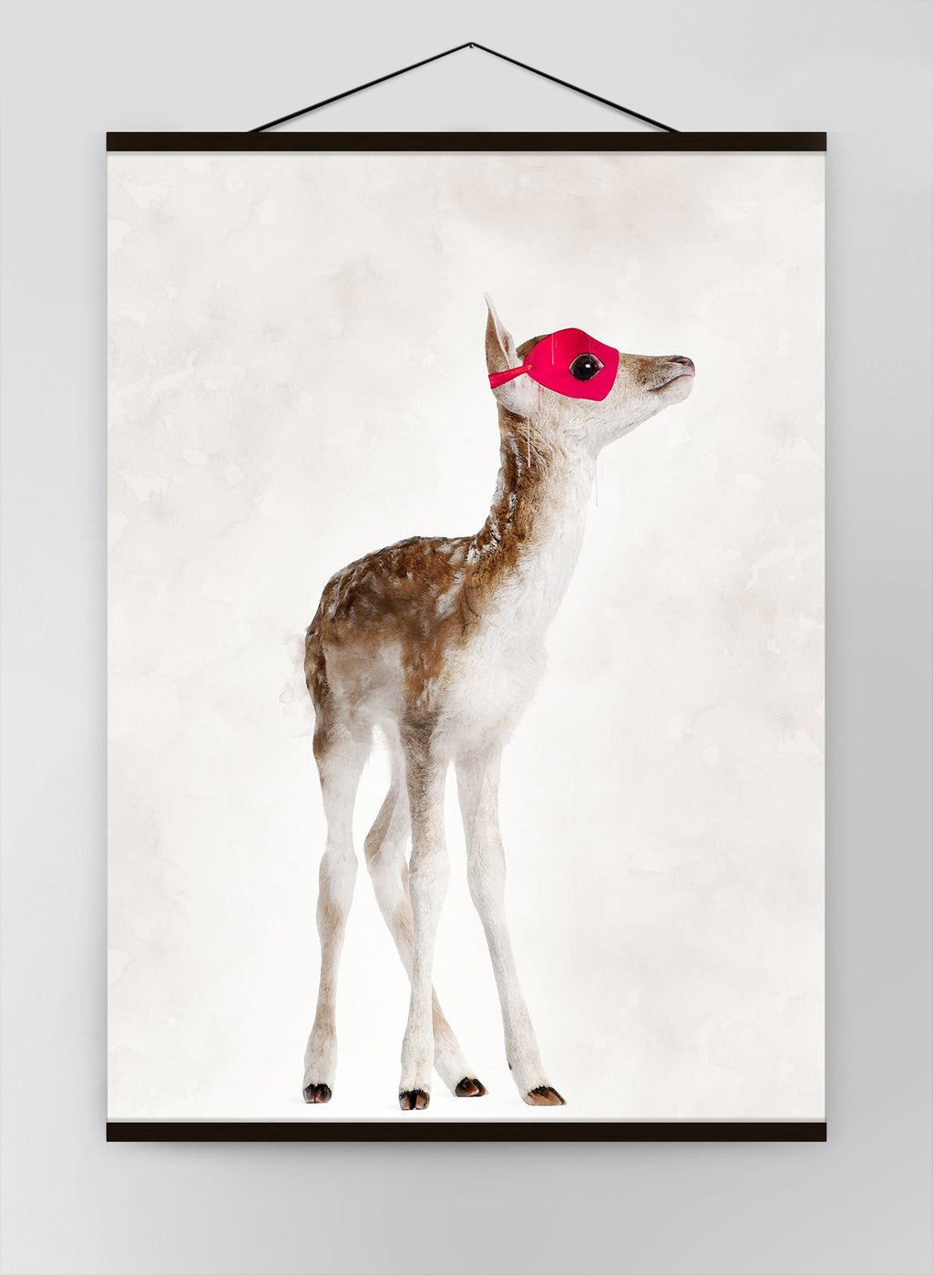 Super Deer Little Heroes Animal Canvas