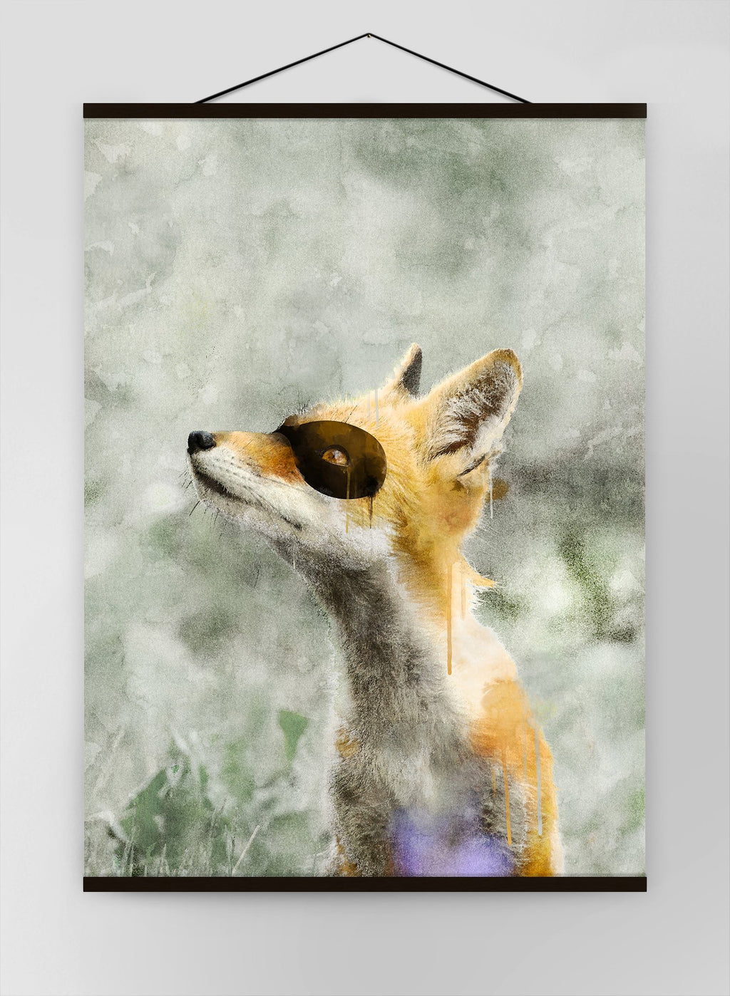 Super Fox Little Heroes Animal Canvas