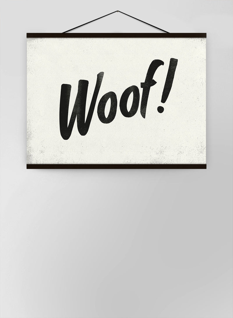 Woof Animal Noises Canvas