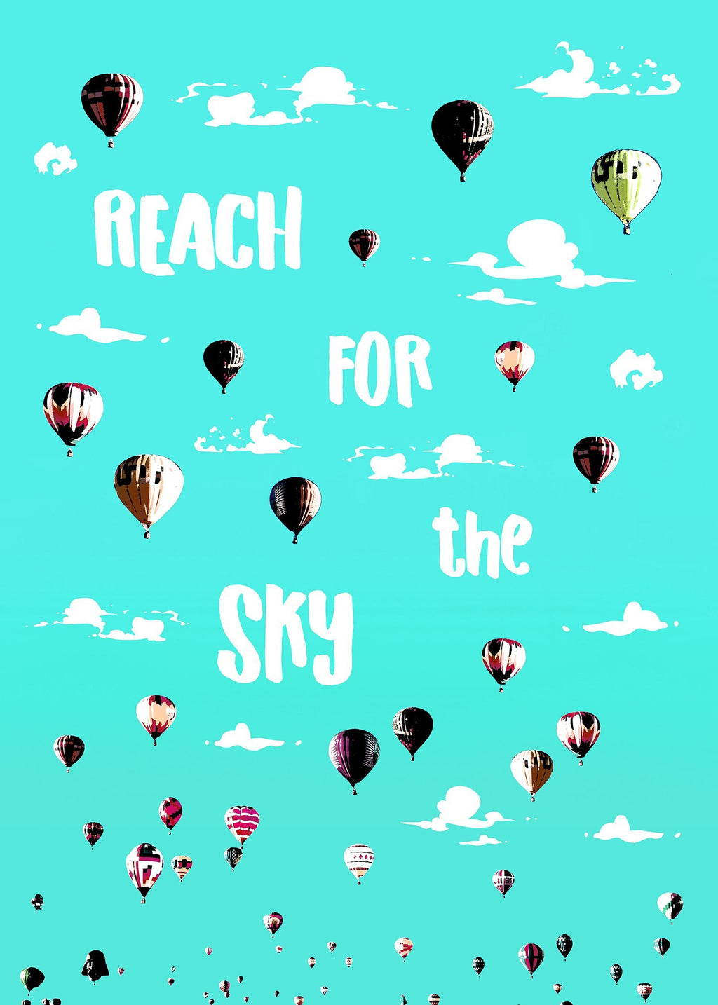 Reach For The Sky Print