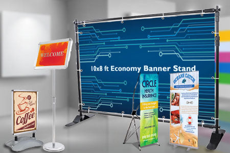Trade Display Stands : The display outlet: pop up trade show displays prize wheels & more!