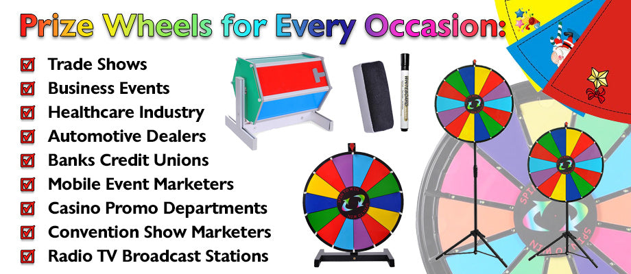 custom dry erase spinning prize wheel the display outlet