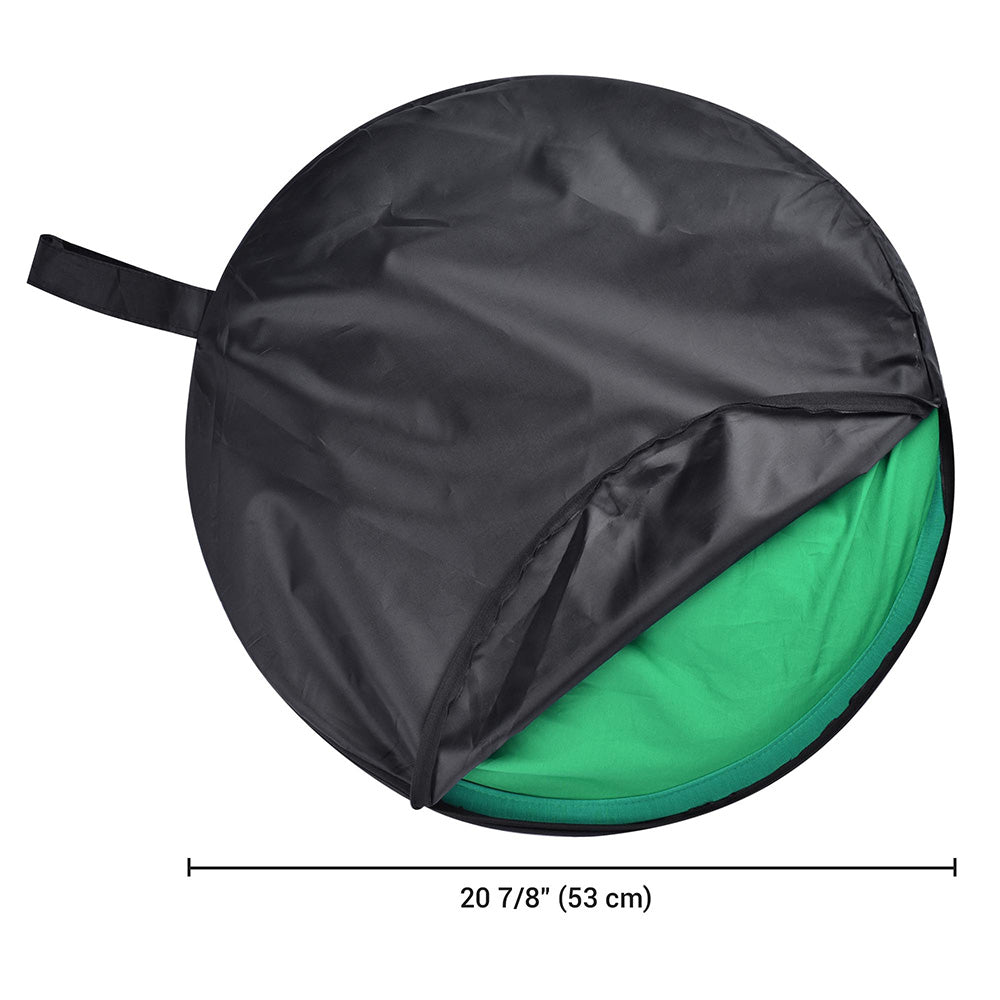 Collapsible Chromakey Backdrop Green Screen 56""