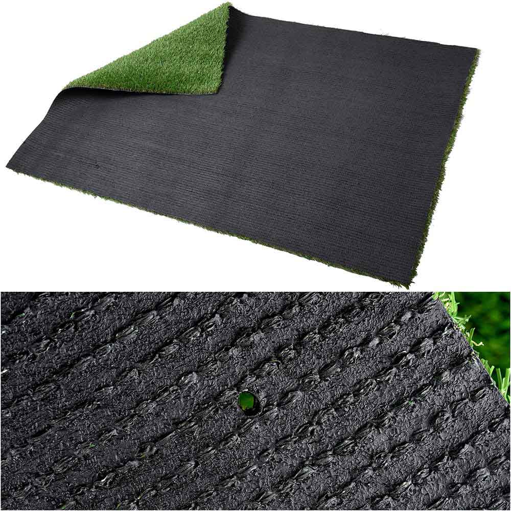 "Artificial Grass Turf Synthetic Pet Turf Roll 5'x3'3"", 1.2"" Thick"