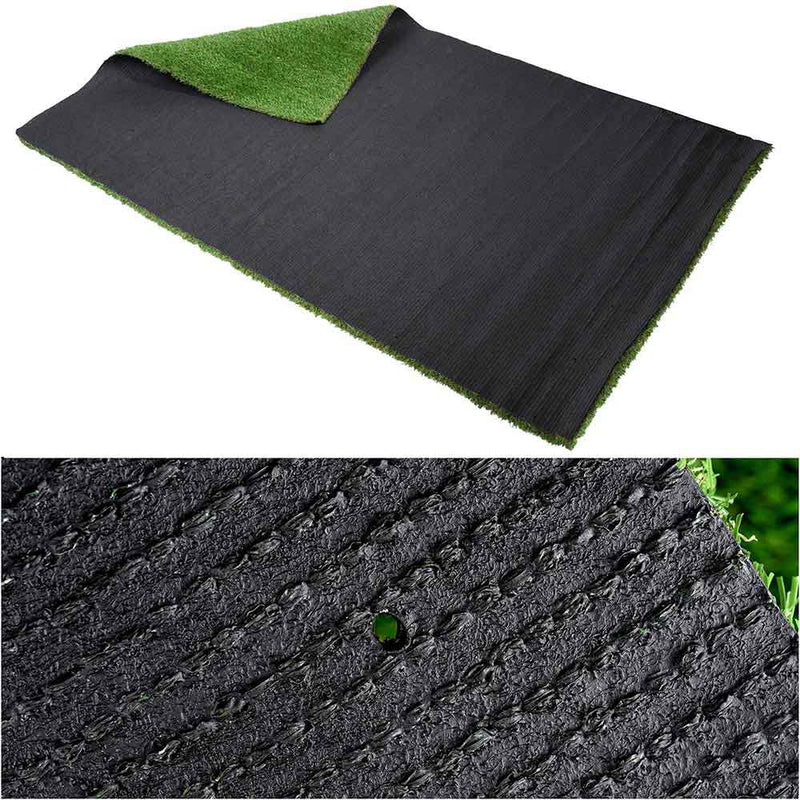 "Artificial Grass Turf Synthetic Pet Turf Roll 4'x6'6"", 1.2"" Thick"