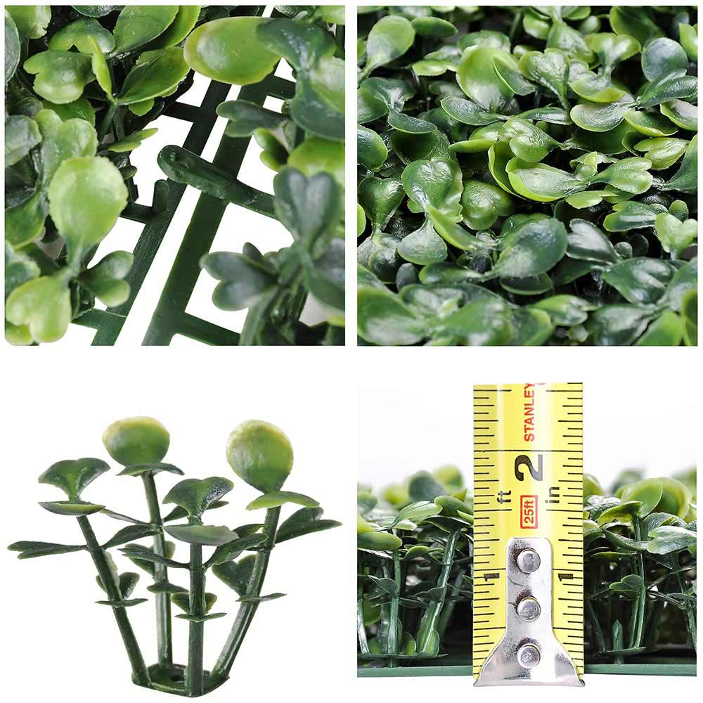 "Wholesale Artificial Hedge Fence Decor 16sq.ft 10x10"" 24pcs"