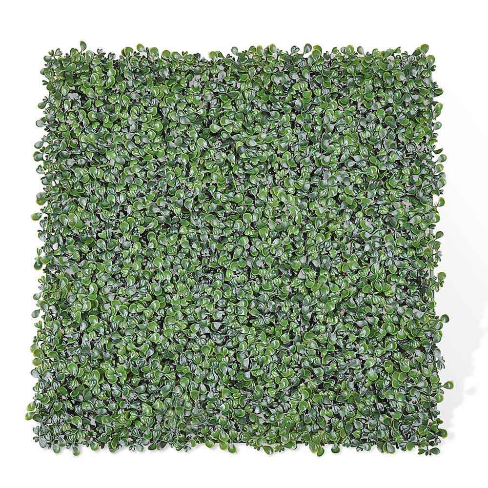 "Artificial Hedge Fence Decor 33sq.ft 20x20"" 12pcs"