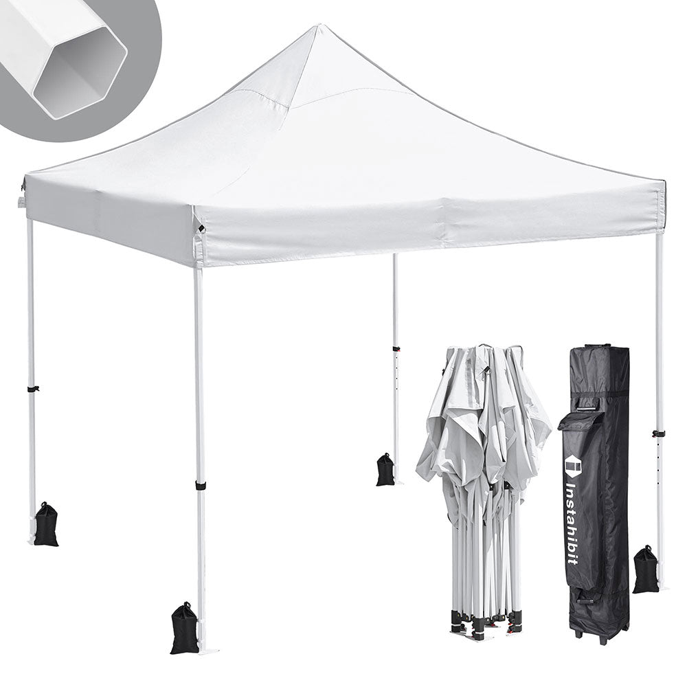InstaHibit 10'x10' Pop Up Canopy Waterproof Instant Canopy CPAI-84