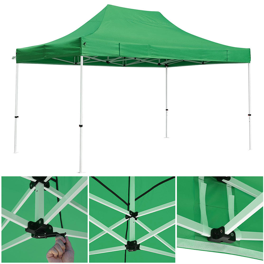 InstaHibit 10'x15' Pop Up Canopy Waterproof Instant Canopy CPAI-84