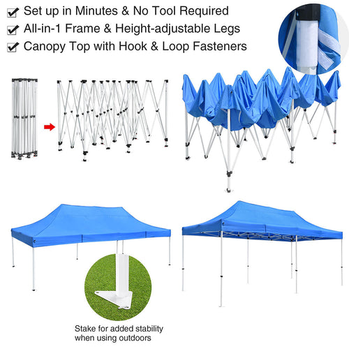 InstaHibit Wholesale Canopy Tent 10x20 Commercial CPAI-84