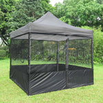 Netting Mesh Sidewalls for 10x10 Pop Up Canopy Side Panel