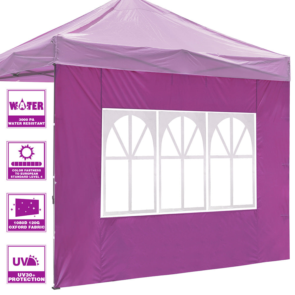 1pc Sidewall w/ Window for Pop Up Canopy